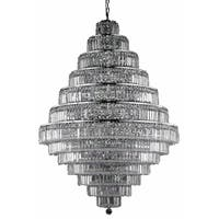 Maxime 38-Light 42 in. Chandelier (Available in Chrome and Gold)