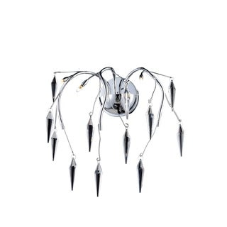 Amour 3-Light 16 in. Chrome Wall Sconce