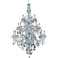 Verona 25-Light 43 in. Chandelier (Available in Chrome and Gold)