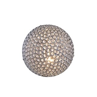 Cabaret 2-Light 12 in. Chrome Wall / Flush Mount with Royal Cut Crystals