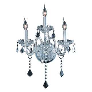 Verona 3-Light 14 in. Wall Sconce (Available in Chrome and Gold)