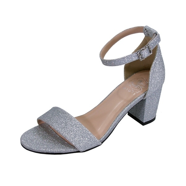 ab8e4b281f4 Buy Silver Women s Sandals Online at Overstock