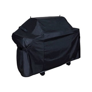 Grill Care Black Grill Cover 42 in. H x 61 in. W x 29 in. D Fits Most Gas Barbecue Grills