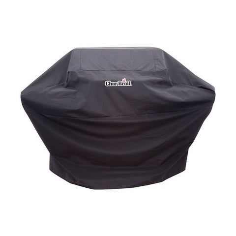 Char-Broil Black Grill Cover 44 in. H x 72 in. W x 25 in. D
