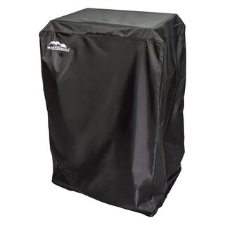Masterbuilt Black Smoker Cover 39.764 in. H x 20.669 in. W x 19.882 in. D 30 in. Gas Smokers