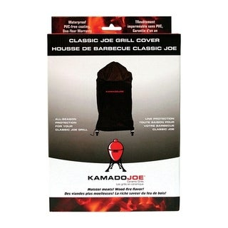 Kamado Joe Black Grill Cover 10.2 in. H x 2.8 in. W x 14.6 in. D Fits Classic Joe Grill