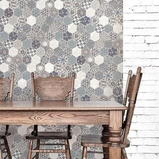 SomerTile 7.125x9-inch Ace Nazari Porcelain Wall Tile (21 tiles/9.12 sqft.)