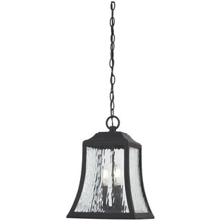 Cassidy Park 3-Light Black Chain Hung Lantern