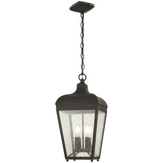 Marquee 4-Light Oil Rubbed Bronze Chain Hung Lantern