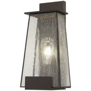 Shop the great outdoors outdoor lighting discover our best deals bistro dawn 1 light dakota bronze outdoor wall mount mozeypictures Choice Image