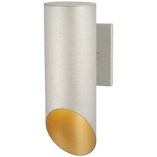 Pineview Slope 1-Light Sand Silver Outdoor Wall Mount