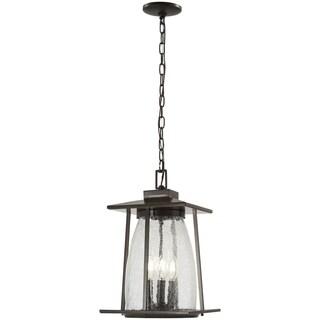 Marlboro 4-Light Oil Rubbed Bronze Chain Hung Lantern