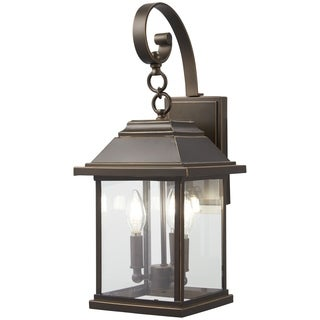 Mariner's Pointe 3-Light Oil Rubbed Bronze Outdoor Wall Mount