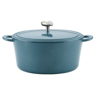 Ayesha Curry Cast Iron Enamel Covered Dutch Oven, 6-Quart