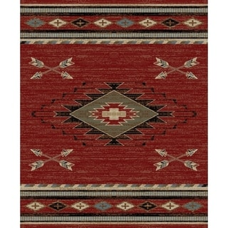 Link to American Destination Arrowhead Southwest Area Rug Similar Items in Rugs