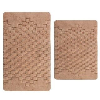 Melange 2-piece Bath Rug Set