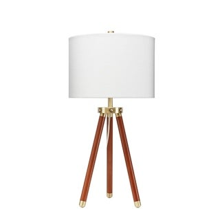 Beaufort Brass Accented Tripod Table Lamp