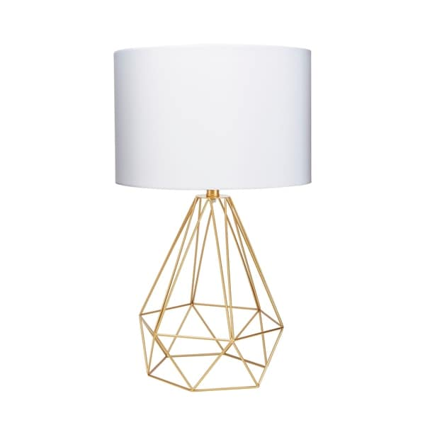 Shop celeste 26 wire prism table lamp gold on sale ships to celeste 26 wire prism table lamp greentooth Choice Image