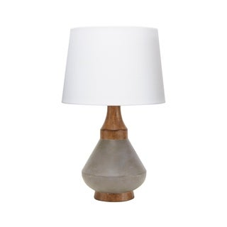 Darcy Resin Table Lamp with Shade
