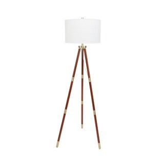 Beaufort Brass Accented Tripod Floor Lamp