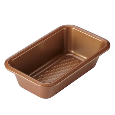 Ayesha Curry Bakeware Loaf Pan, 9-Inch x 5-Inch, Copper