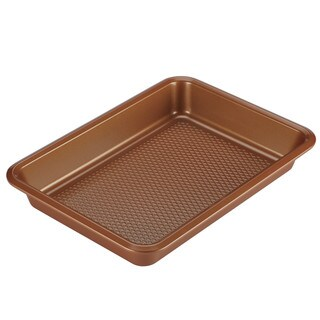 Ayesha Curry Bakeware Cake Pan, 9-Inch x 13-Inch, Copper