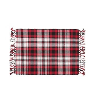 Windowpane Cocoa Placemat Set of 6