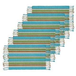 Tropical Stripe Placemat Set 6