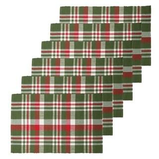 Owen Plaid Cotton Placemat Set of 6