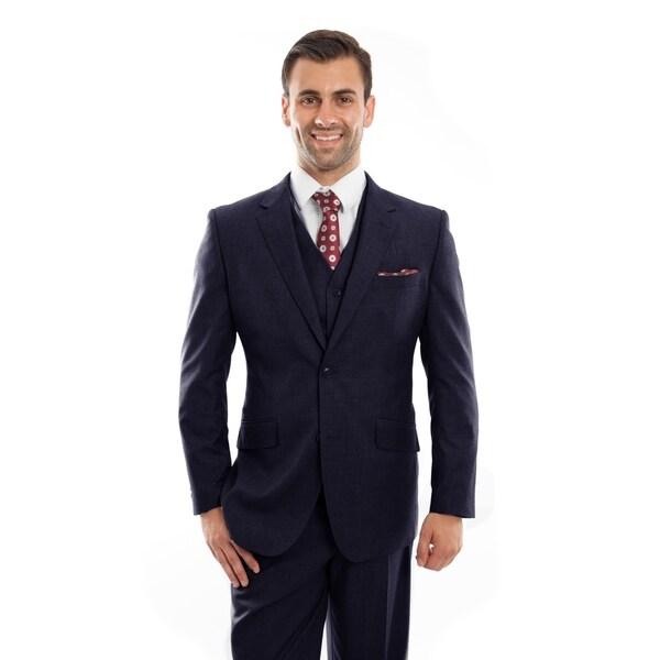 Mens Vintage Jacket Suits Notch Lapel Suit Set