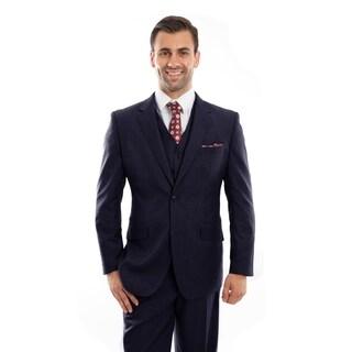 Mens Vintage Wool Suits Notch Lapel Suit Set