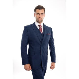 Mens Vintage Jacket Suits Notch Lapel Suit Set