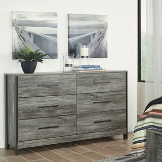 Cazenfeld Grey 6-drawer Dresser