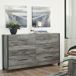 Cazenfeld Grey 6-drawer Dresser