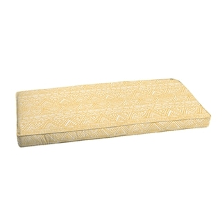 Link to Humble + Haute Yellow and White Triangle Corded Indoor/ Outdoor Cushion (As Is Item) Similar Items in As Is