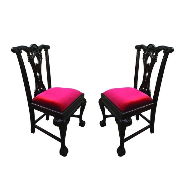 Chippendale Side Chair Set of 2 pcs