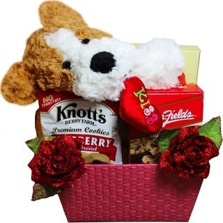 Puppy Hugs and Cookie Kisses Gift Baskets