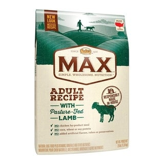 Nutro Max All Size Dogs Adult Dog Food Lamb 25 lb.