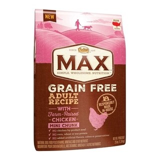 Nutro Max Small Adult Dog Food Grain Free Chicken 25 lb.