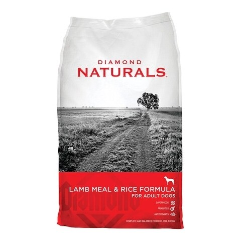 Diamond Naturals Medium Adult Dog Food Lamb and Rice 40 lb.