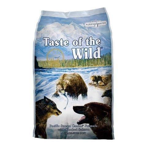 Taste of the Wild Pacific Stream Medium Adult Dog Food Salmon 30 lb.