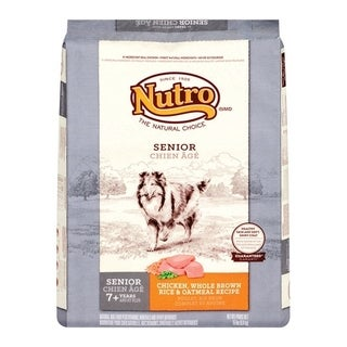 Nutro Natural Choice Medium Adult Dog Food Chicken, Brown Rice, Oatmeal 15 lb.