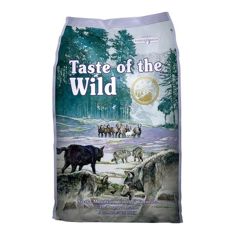 Taste of the Wild Sierra Mountain Medium Adult Dog Food Lamb 15 lb.