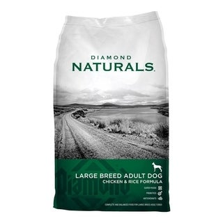 Diamond Naturals Large Adult Dog Food Chicken and Rice 40 lb.