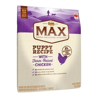 Nutro Max Medium Puppy Dog Food Chicken 12 lb.