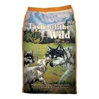 Taste of the Wild High Prairie Medium Puppy Dog Food Bison 15 lb.