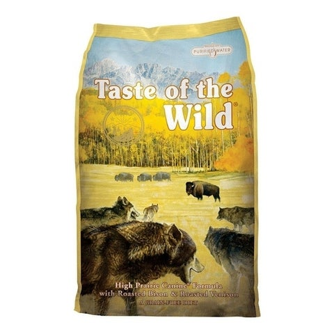 Taste of the Wild High Prairie Medium Adult Dog Food Bison 30 lb.