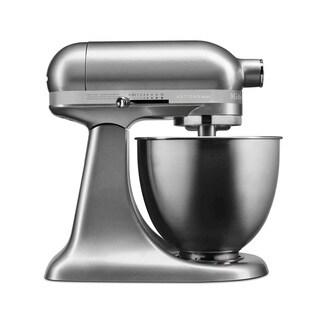 KitchenAid Artisan Mini 3.5 Qt. Stand Mixer, Contour Silver