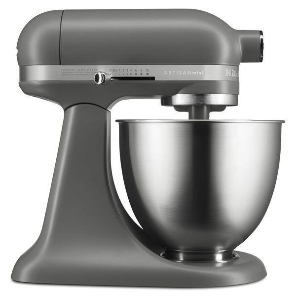 Kitchen Aid Ksm3311 X Artisan Mini 3.5 Quart Stand Mixer   Matte Gray by Kitchen Aid