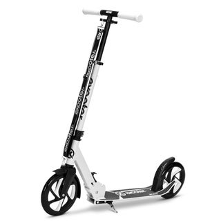 EXOOTER M1475WT 5XL Teen Cruiser Kick Scooter with 200mm Wheels in White.